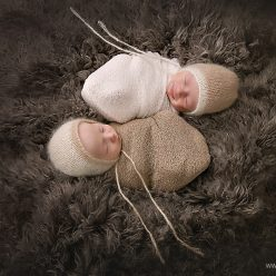 philadelphia newborn twin photographer