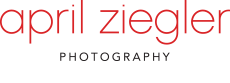 Philadelphia Portrait & Pet Photographer   |   April Ziegler Photography logo